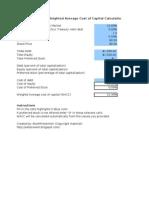 WACC_calculator