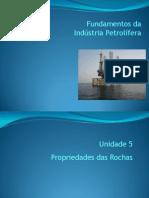 Unidade 05 - Prop. Das Rochas