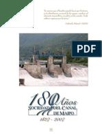 180 Años Sociedad Canal Del Maipo