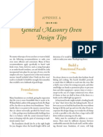 General Masonry Oven Design Tips