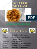 Business Plan Burito