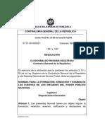 Normas Formacion Rendicion y Examen de La Cta