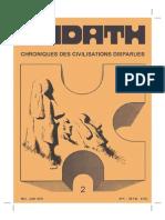 Kadath Chroniques Des Civilisations Disparues - 002