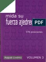 August Livshitz - Mida Su Fuerza Ajedrecistica (Volumen 3)