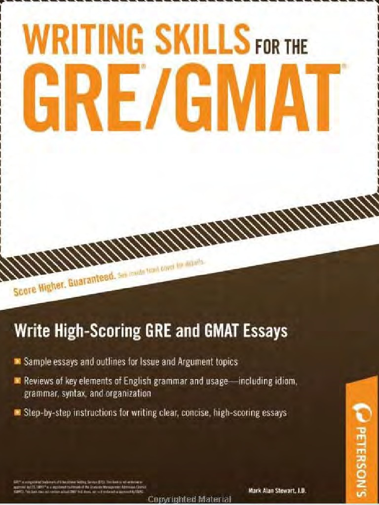Writing Skills for GRE | Graduate Record Examinations | Graduate Management  Admission Test