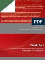 Ppt Didaktika i - Prvi Kolokvij 2009-10
