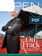 Open For Business magazine - June/July 2014