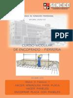 Modulo 3 Fasciculo 7 Hacer Armadura Para Placa Hacer Paneles Encofrar Placa Con Paneles