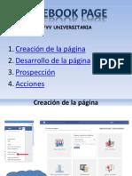 Presentacion Facebook Page