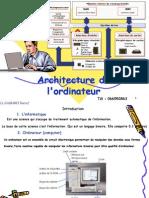 Architecture Ordinateur 2008 p1