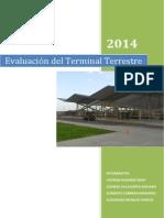 Evaluación Del Terminal Terrestre