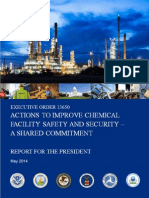 Actions to improve chemical facility safety and security