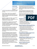 Inteq Big Data Requirements Analysis Overview 2013
