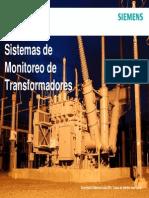 Sistemas de Monitoreo de Transformadores