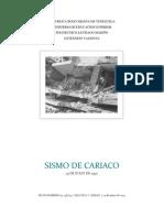 Informe Sismo Cariaco 1997