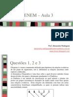 Projeto ENEM Biologia Aula3 01-10-2011