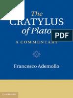 The Cratylus of Plato