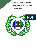 Proyecto Educativo Institucional de Eorm Aldea El Rubi