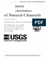 Roughness Characteristics of Natural Channels, USGS WSP 1849, H. H. Barnes
