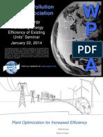 Plant Optimization for Increased Efficiency by Matt Dooley, Alstom