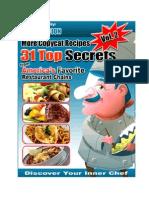 31 Secret Restaurant Recipes