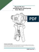 Manual Druck Pv 411