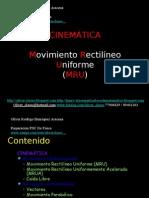 02 - Presentación 02 - Cienematica - MRU