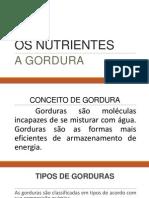 Os Nutrientes