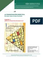 La Transposición Didáctica - Chevallard - Capitulo 1