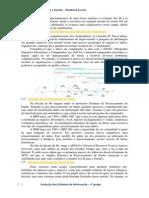 Evolução Dos Sistemas de Informaçao