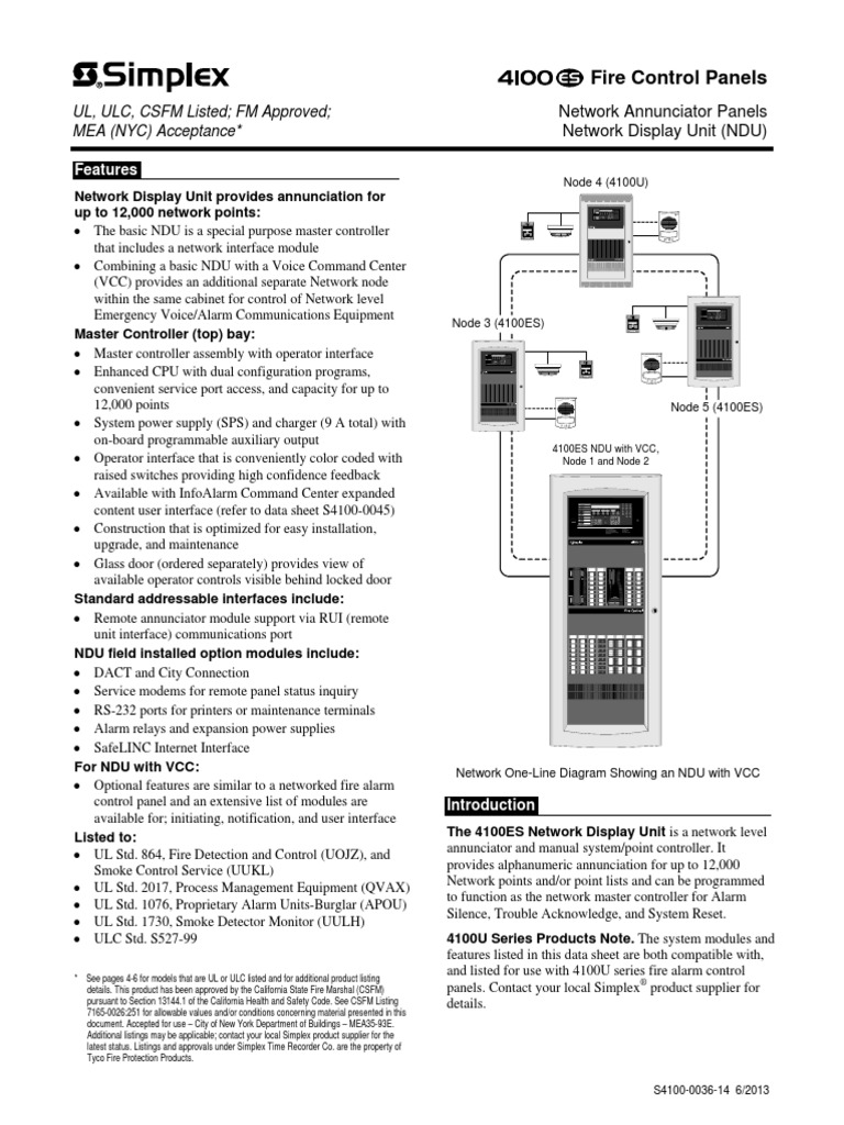 simplex 4100 0036 amplifier battery charger rh scribd com Simplex 2001 Fire Panel Manual simplex 4100 wiring diagram