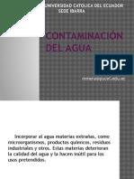 Contaminaciondelagua Calidadyconservaciondeaguas 110601180148 Phpapp02