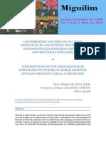 Contribuições Das Ciências Do Léxico Especializado Aos Estudos Dos Direitos Humanos Pelas Assessorias Jurídicas Universitárias Populares (Com Yrh)