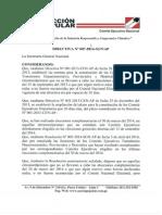 Directiva 07-2014-SGN