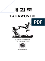 Martial Arts- Taekwondo- Student Handbook