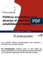 Politicas Econmicas Honduras