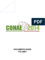 CONAE 2014 - Documento-Base - Volume I - 15012014