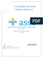 Guia CUIDADOS Del Adulto Mayor