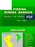 Presentación Mina Pierina