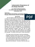 SwVivek Experience-NirvikalpaSamadhi ENA5