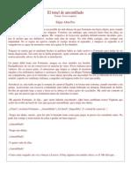 El Tonel de Amontillado Otros Cuentos . de Antologia de Cuentos de Terror