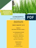 Concerto Coro Santa Cecilia di Torino