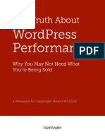The Truth About WordPress Performance