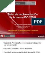 Taller de Implementacion de La Norma Iso 27001