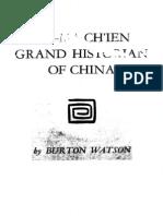 Ssu-ma Chien-grand Historian of China