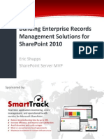 Building Enterprise Records Management Solutions for SharePoint 2010