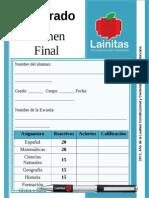 4to Grado - Examen Final (2013-2014)