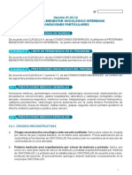 Condiciones Particulares Bienestar Oncologico Interbank