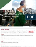 Informe - Estudio Mundial 2014 - Pre Evento Vfin
