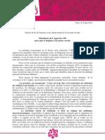 Plateforme Appel Des 100 - 9 Juin 2014